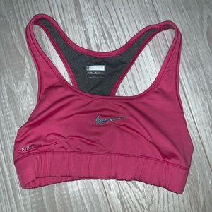 Nike fit dry reversible sports bra size XS
